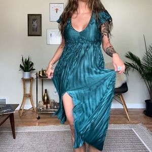 Urban Outfitters emerald dress
